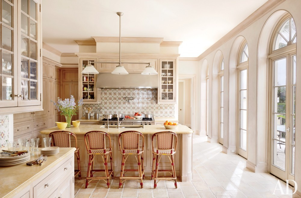 Traditional Kitchen by David Easton Inc. and Addison Mizner in Palm Beach, FL