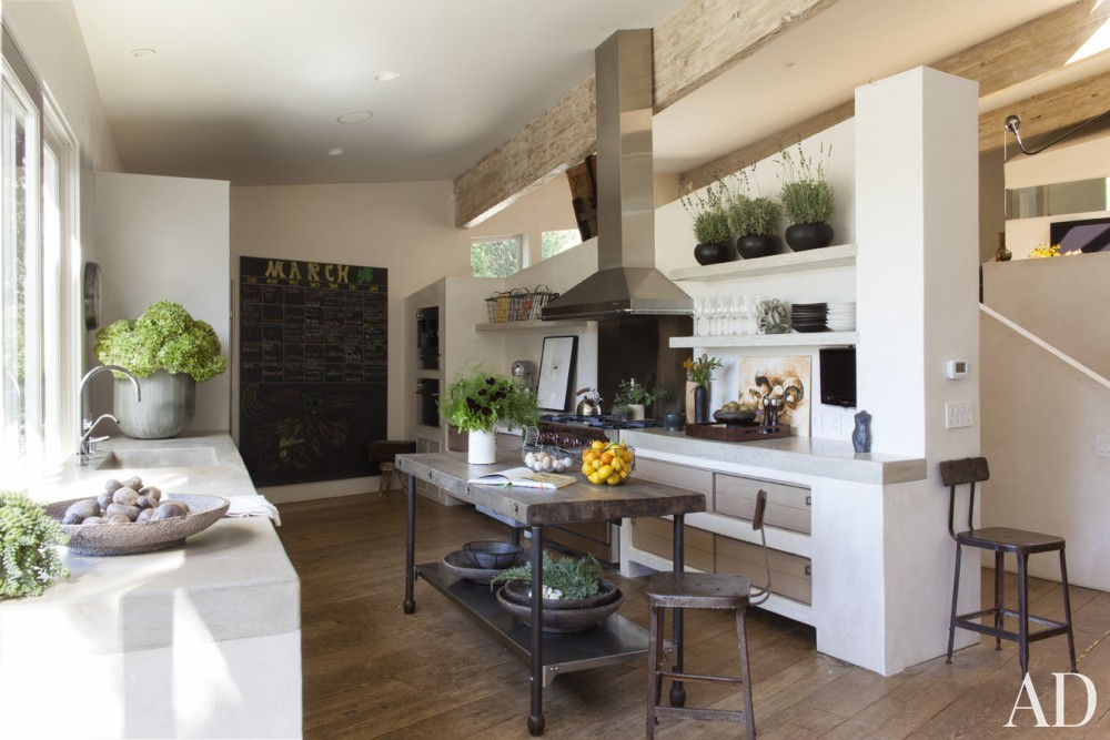 Traditional Kitchen by Estee Stanley Interior Design in Malibu, California