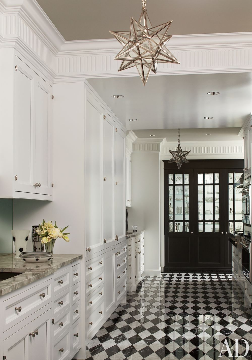 Traditional Kitchen by Jean-Louis Deniot in Chicago, Illinois