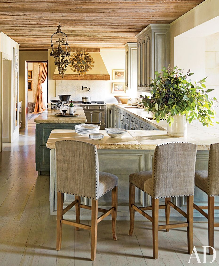 Traditional Kitchen By Kara Childress Inc By Architectural Digest Ad Designfile Home