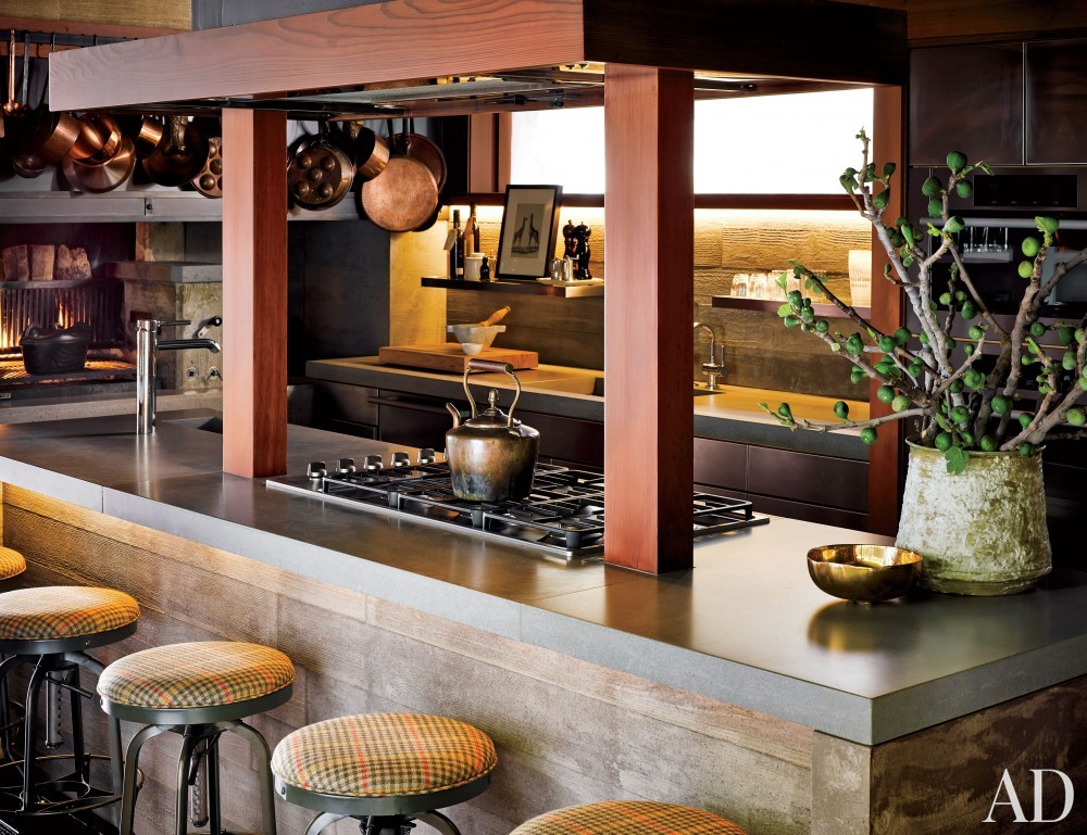 Traditional kitchen by ken fulk by architectural digest ad designfile home decorating photos - San francisco kitchen design ...