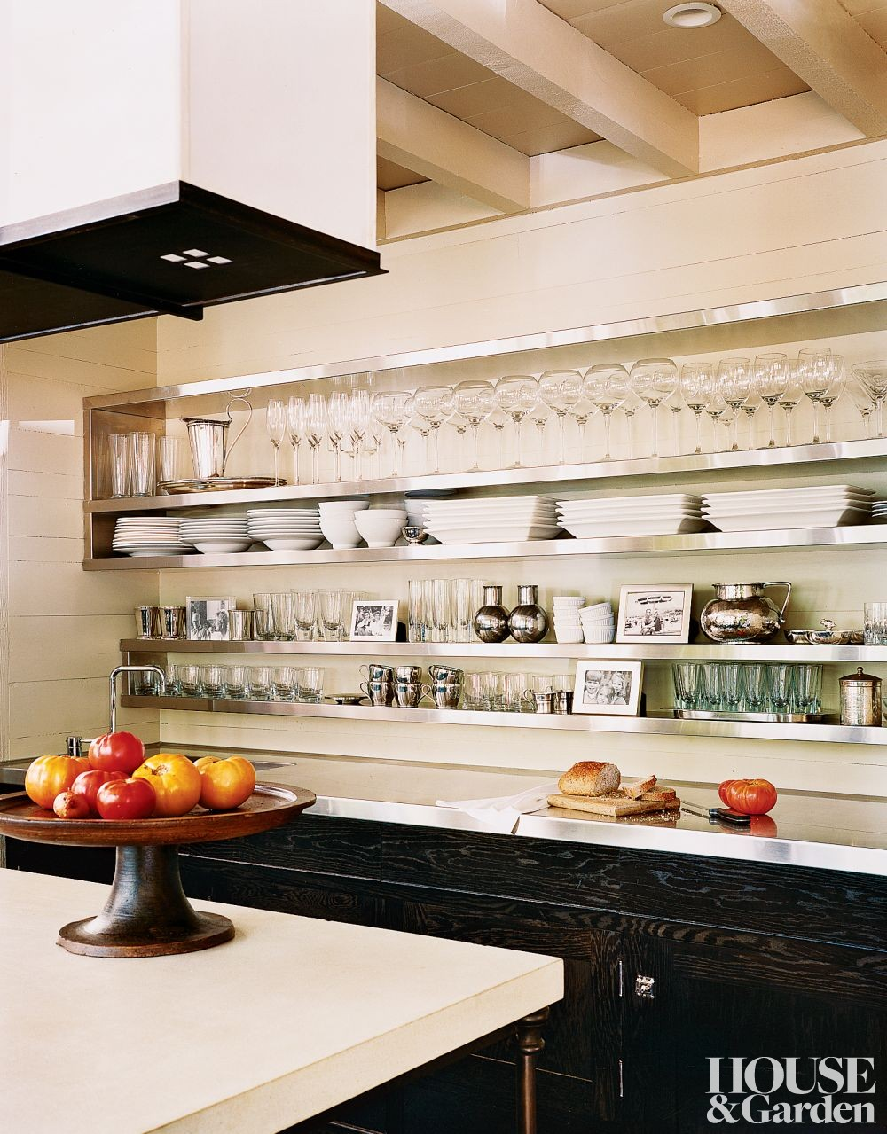 Traditional kitchen by mcalpine tankersley architecture by for Traditional kitchen shelves