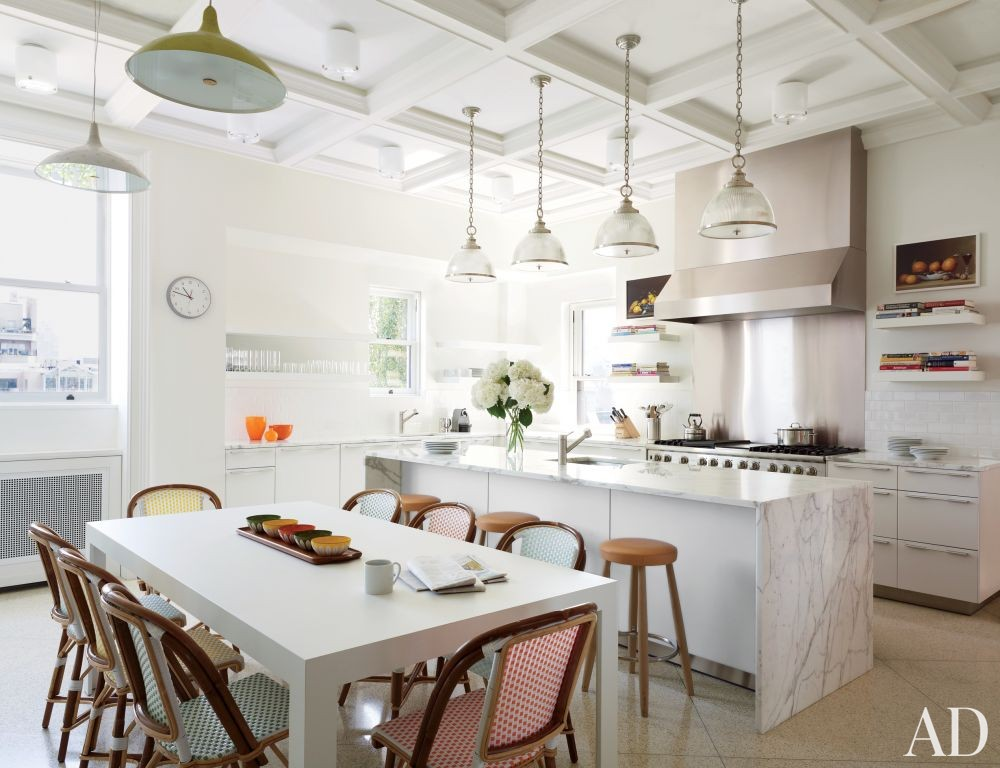 Traditional Kitchen by Shelton, Mindel & Associates in New York, New York