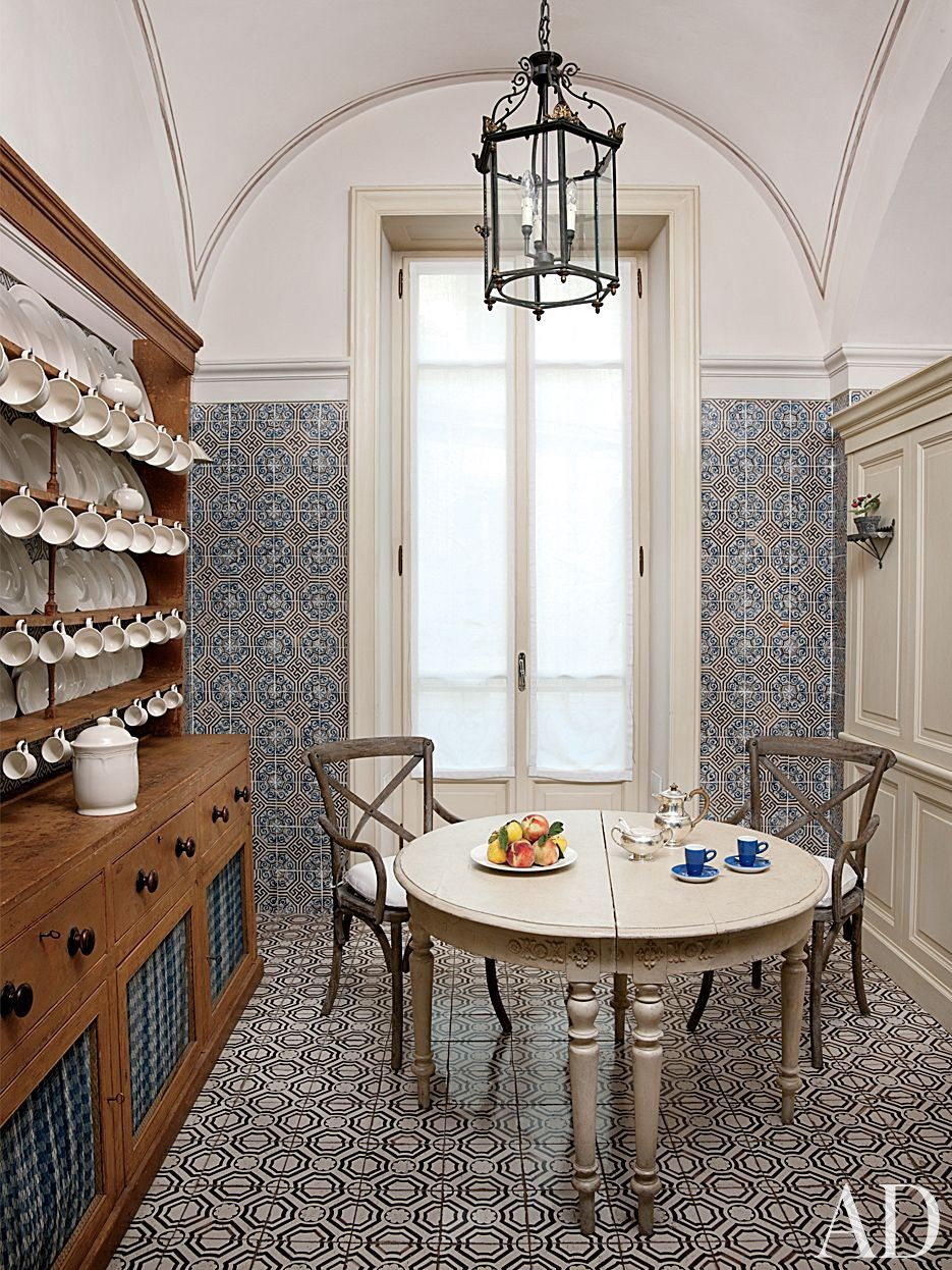 Traditional Kitchen by Studio Peregalli in Naples, Italy