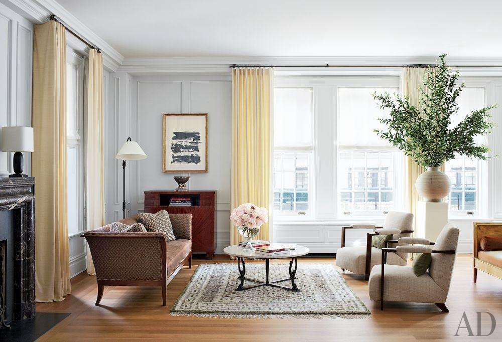 Traditional Living Room by Aparicio + Associates in New York, New York