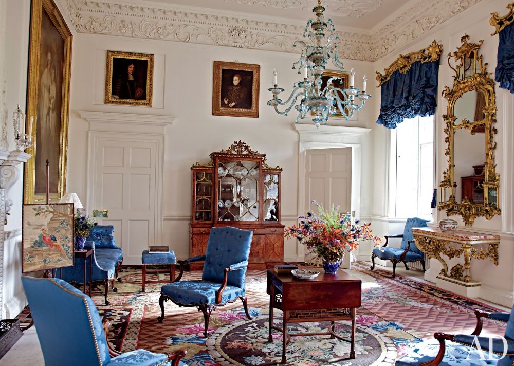 Traditional Living Room in Ayrshire, Scotland