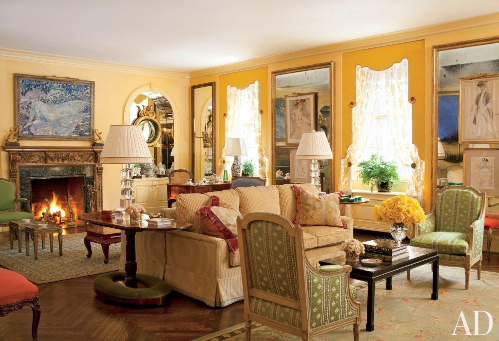 Traditional Living Room by Brockschmidt & Coleman in New York, New York