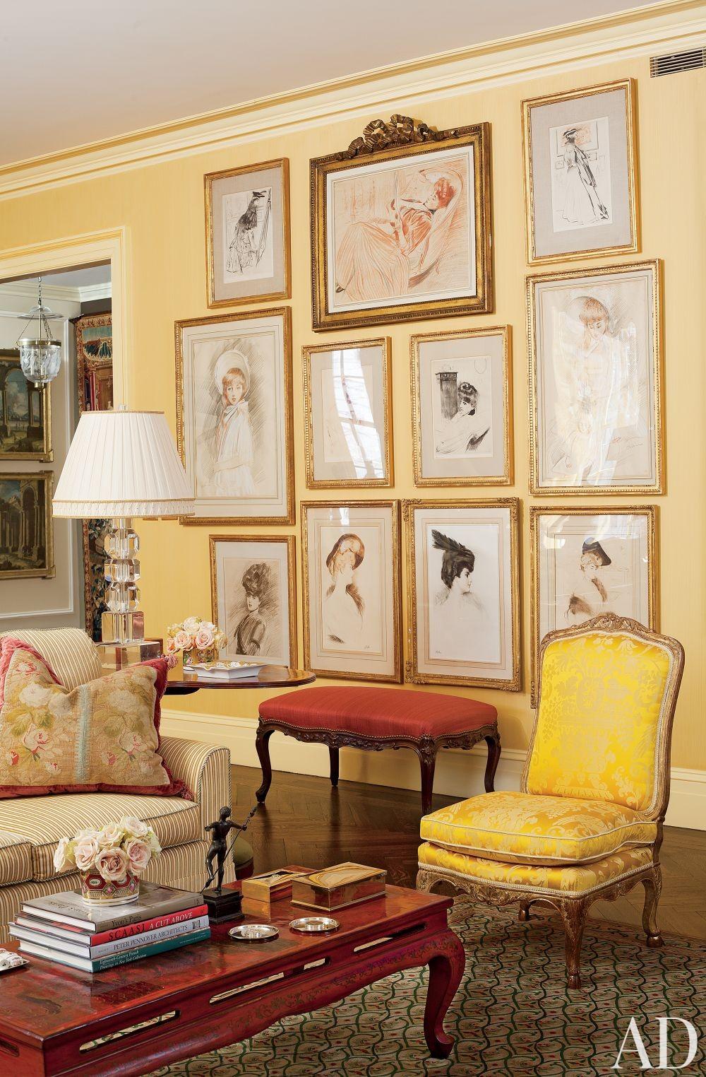 Traditional Living Room by Brockschmidt & Coleman in New York, New York