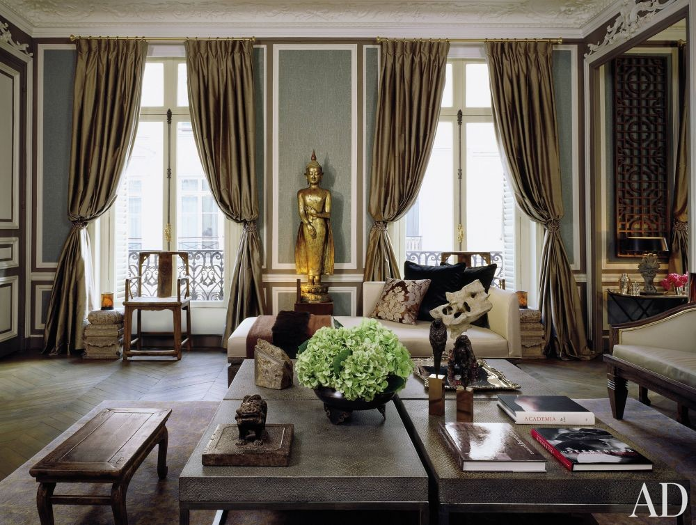 traditional living room by christopher noto by