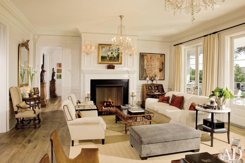 Traditional Living Room by David Phoenix and Don Nulty in Santa Barbara, California