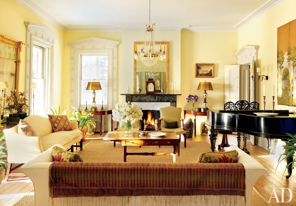 Traditional Living Room by Hottenroth + Joseph Architects and Hottenroth + Joseph Architects in Livingston, New York