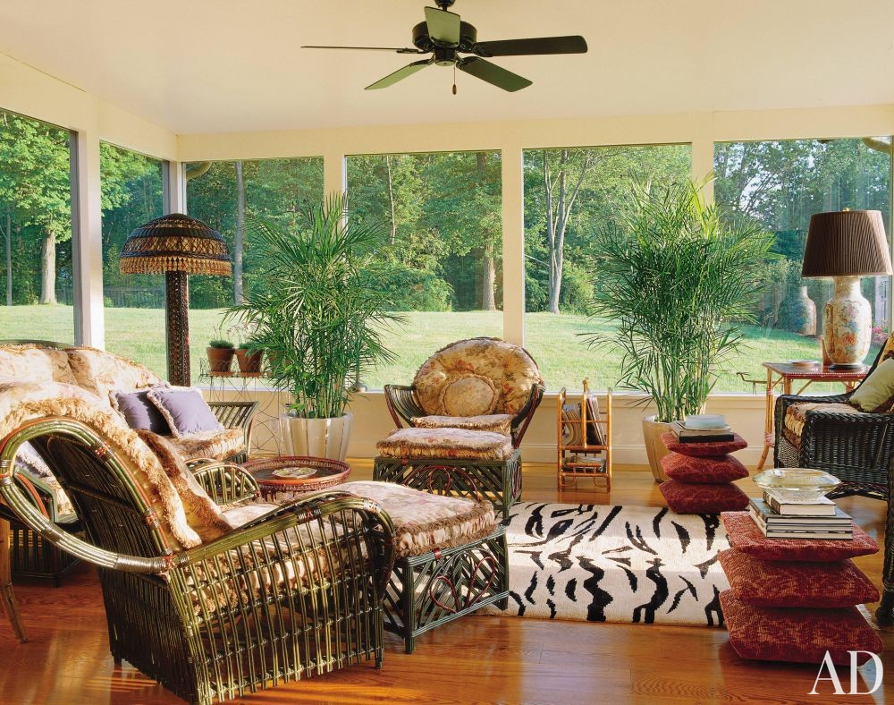 Traditional Living Room in Hudson Valley, New York