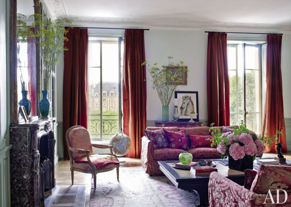Traditional living room by jacques garcia by architectural for Decoration jacques garcia