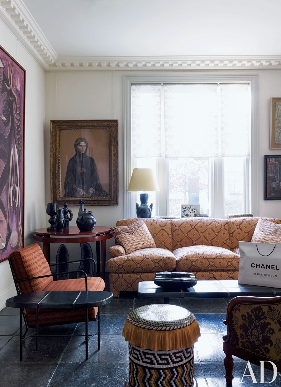 Living Room Traditional Decor: Traditional Living Room By Jacques Grange By Architectural