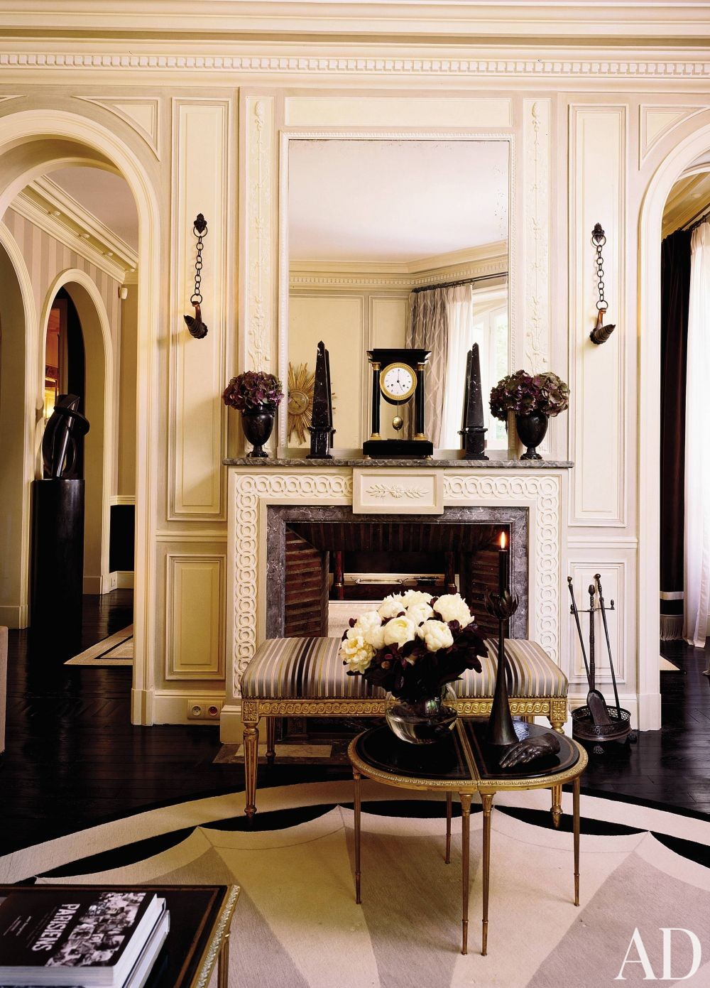 Traditional Living Room by Jean-Louis Deniot by