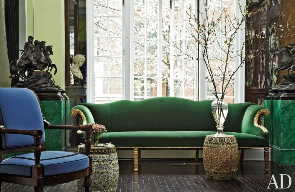 Traditional Living Room by Jean-Paul Beaujard in New York, New York
