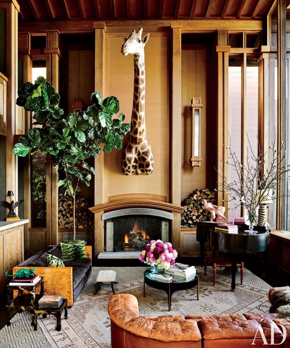 Traditional Living Room by Ken Fulk in San Francisco, California