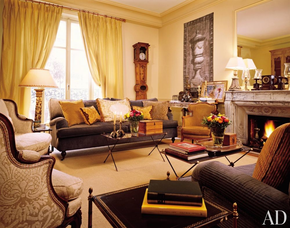 traditional living room by penny drue baird by