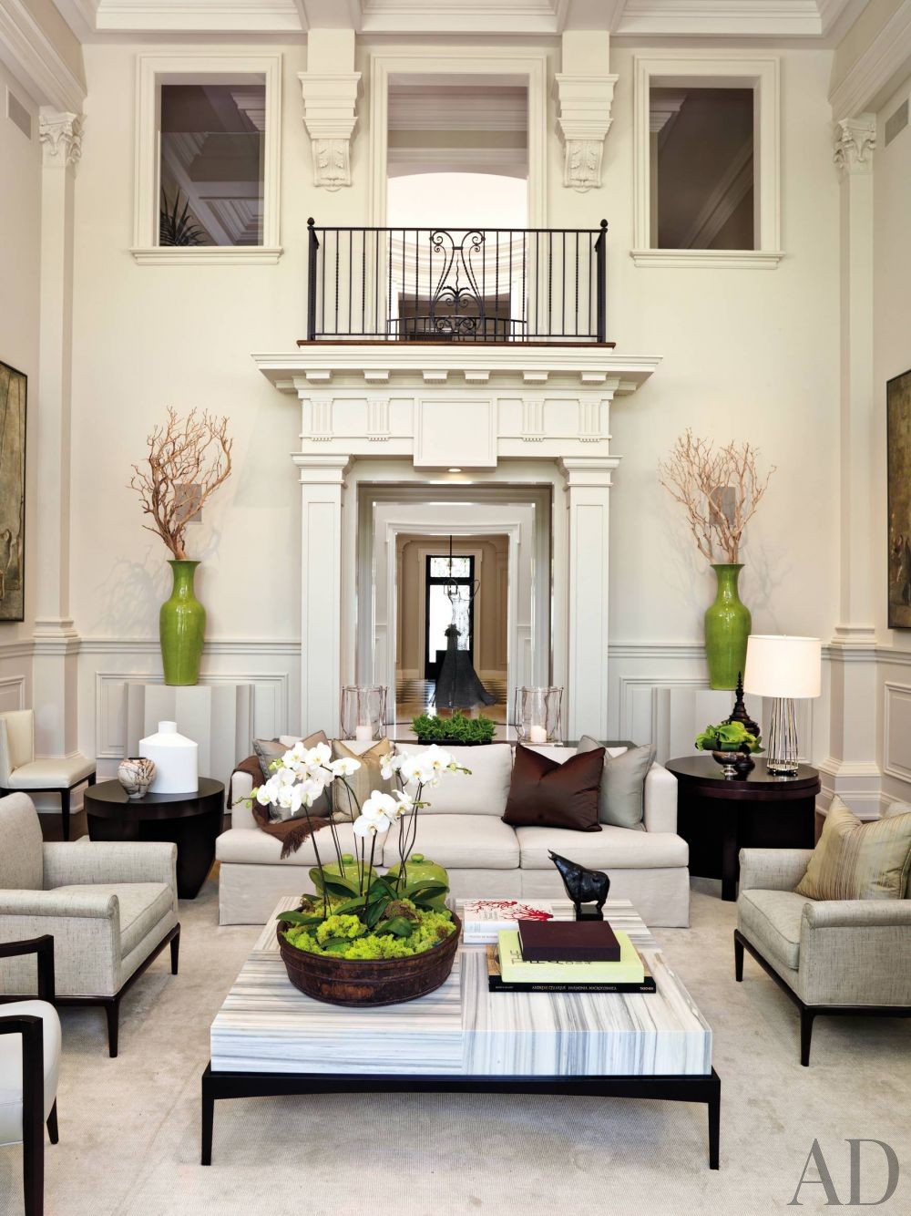 Traditional Living Room By Powell Bonnell By