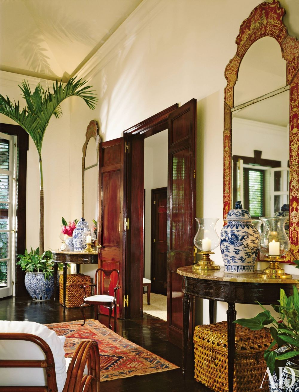 Traditional living room by ralph and ricky lauren by for Living room designs in jamaica