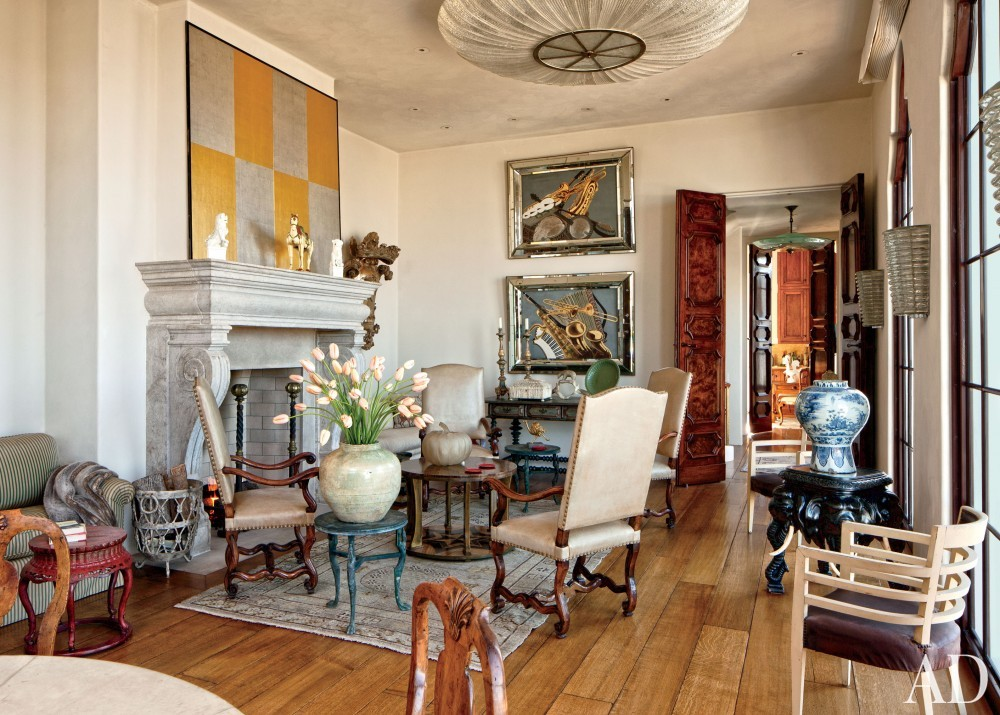 Traditional Living Room and BAR Architects in San Francisco, California