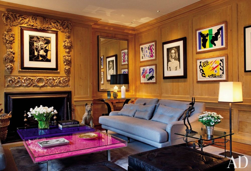 Traditional Living Room by Shelton, Mindel & Associates and Anthony Close-Smith in London