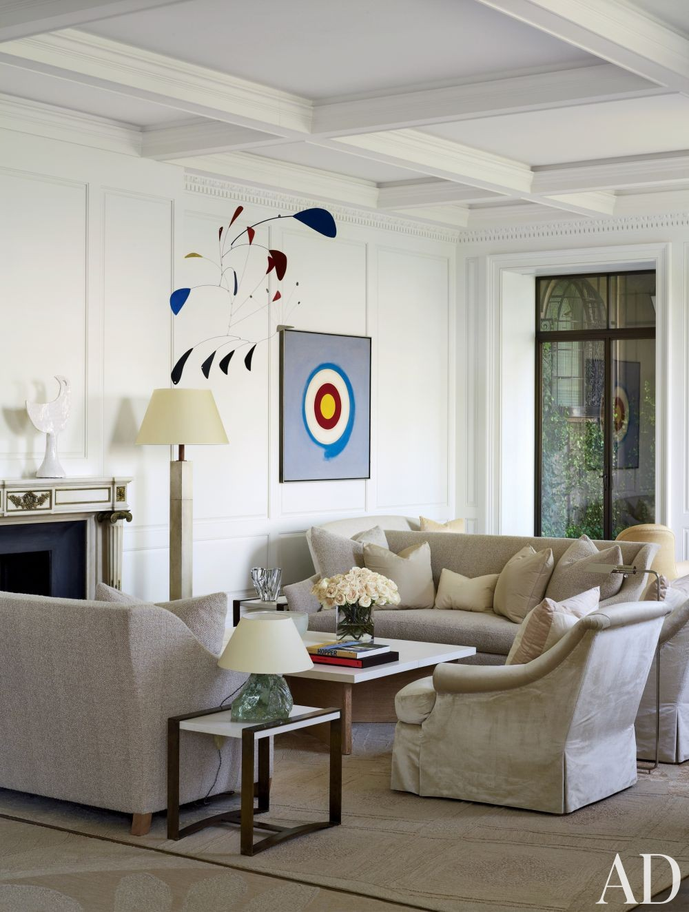 Traditional Living Room by Shelton, Mindel & Associates in New York, New York