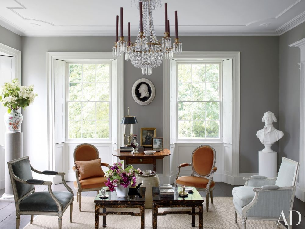 Traditional Living Room by Shostak & Co. Inc in Claverack, New York