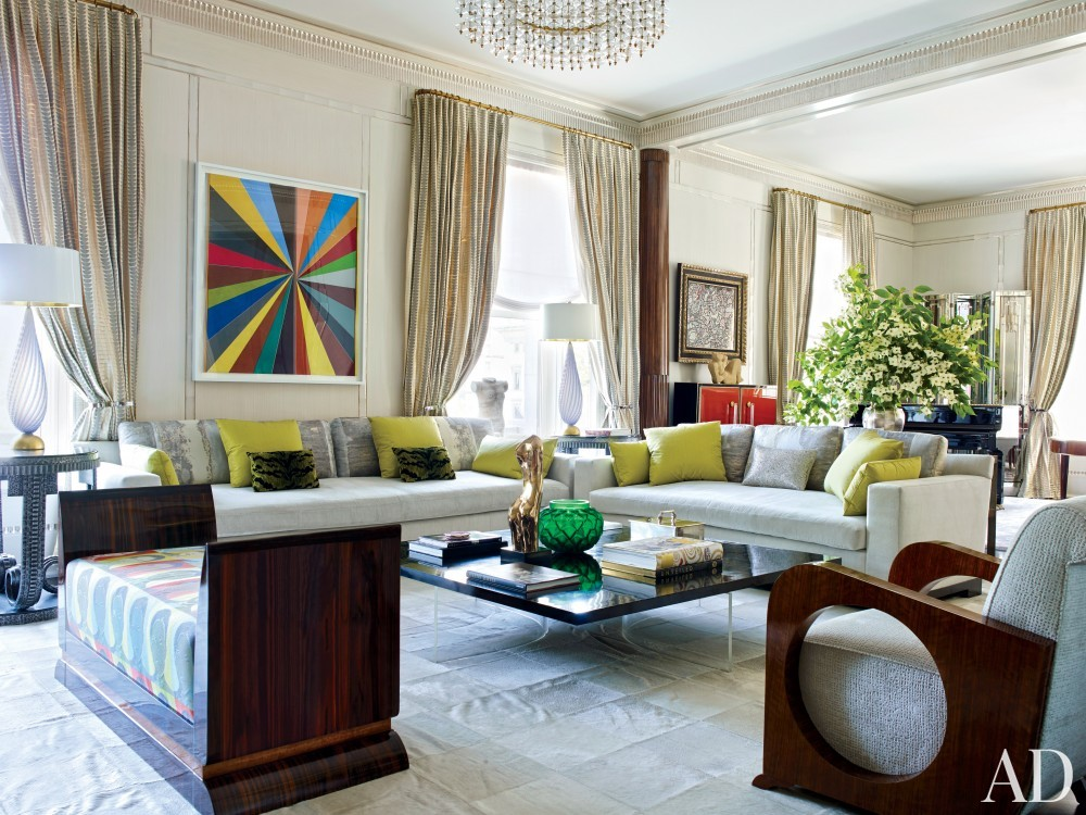 Traditional Living Room by Susanna Maggard in New York, NY
