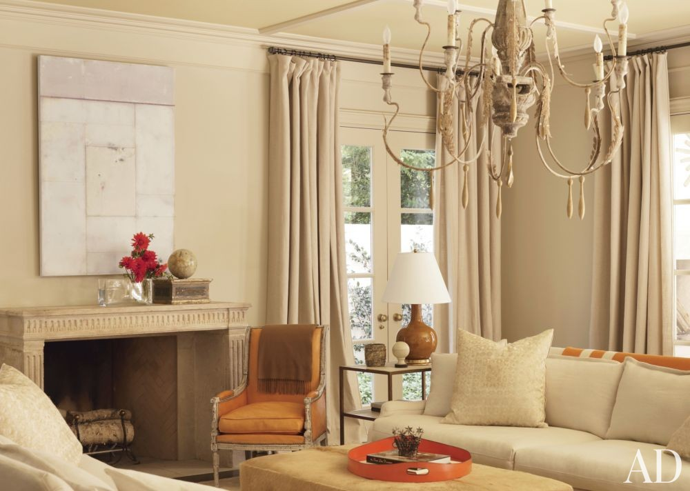 Traditional living room by suzanne kasler interiors by for Interior digest