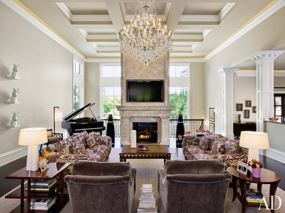 Traditional Living Room and Bradley C. Touchstone in Tallahassee, Florida