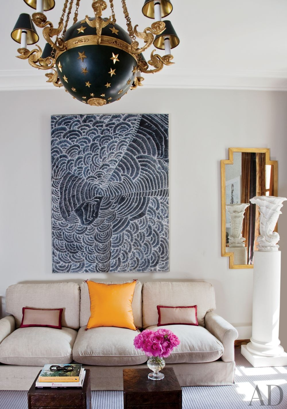 Paris Living Room Decor Traditional Living Room By Tino Zervudachi By Architectural Digest