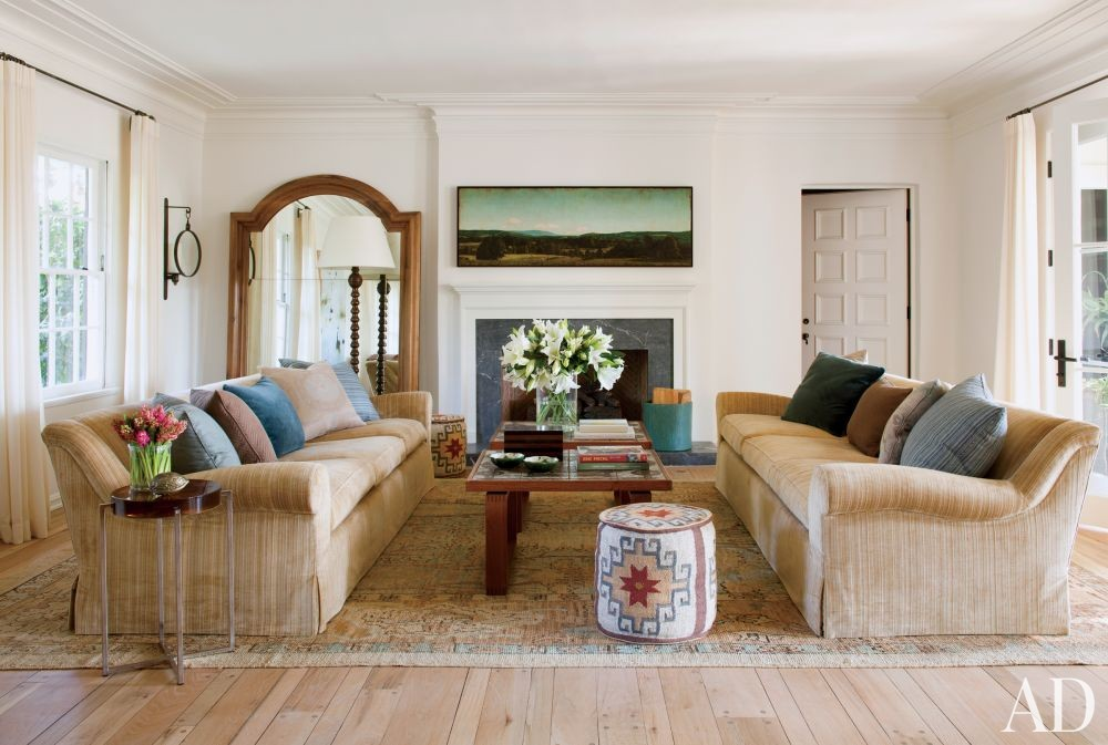 Traditional Living Room by Trip Haenisch & Associates in Bel Air, California