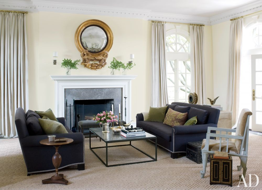 Traditional Living Room by Victoria Hagan in Southport, Connecticut