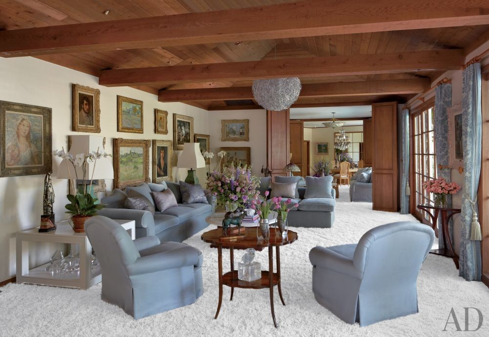 Traditional Living Room by Waldo\'s Designs in Bel Air, California