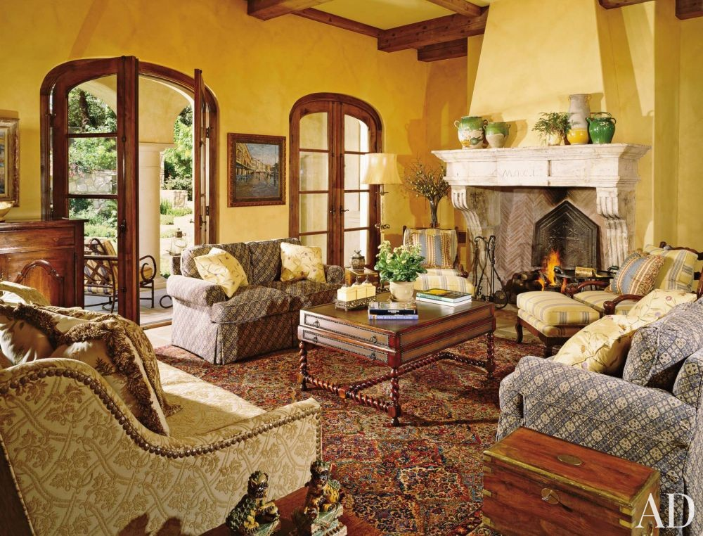 Traditional Living Room By William W Stubbs By