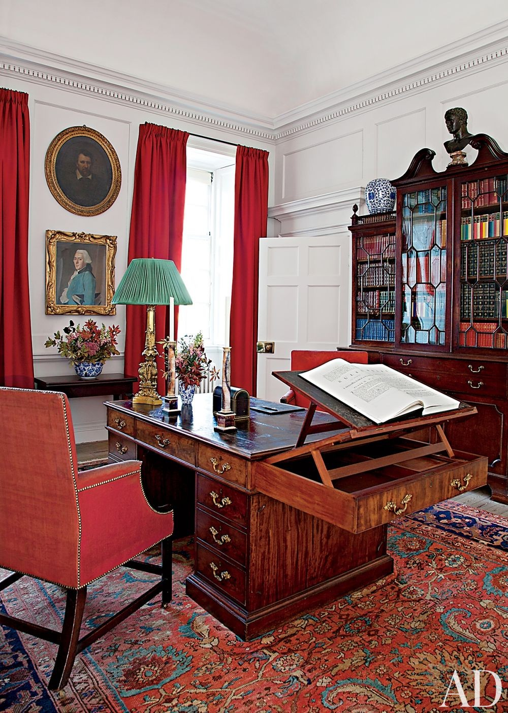 Traditional Office/Library in Ayrshire, Scotland