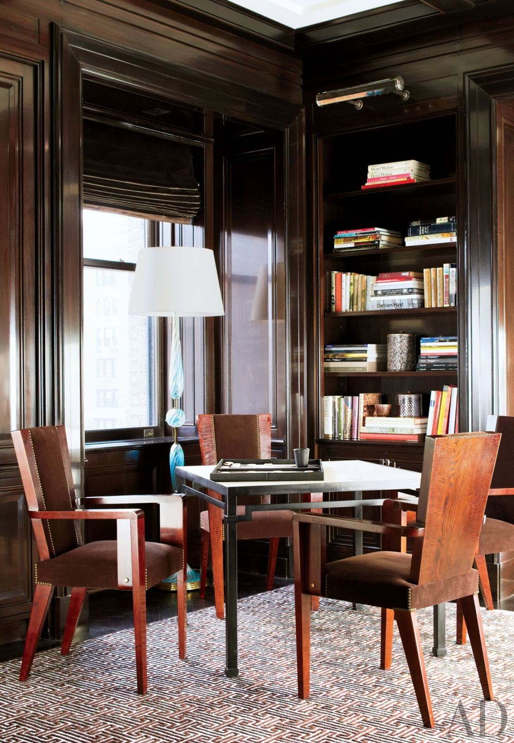 Traditional Office/Library by David Kleinberg Design Associates and David Kleinberg Design Associates in New York, New York