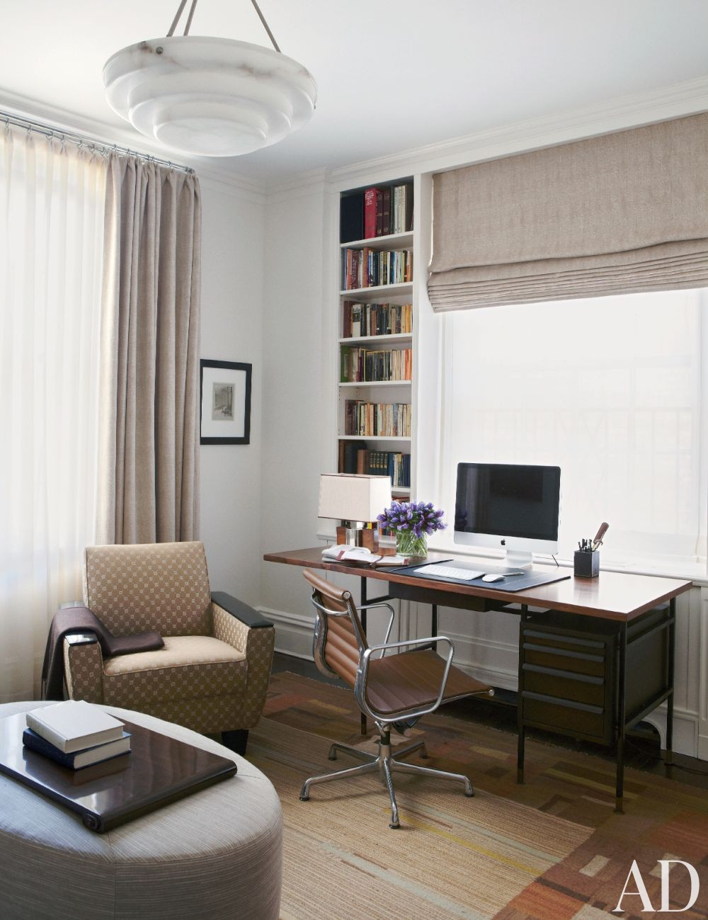 Traditional Office/Library by Gomez Associates Inc. in New York, New York