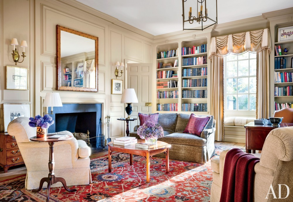 Traditional Office/Library by Gomez Associates Inc. in Washington, D.C.