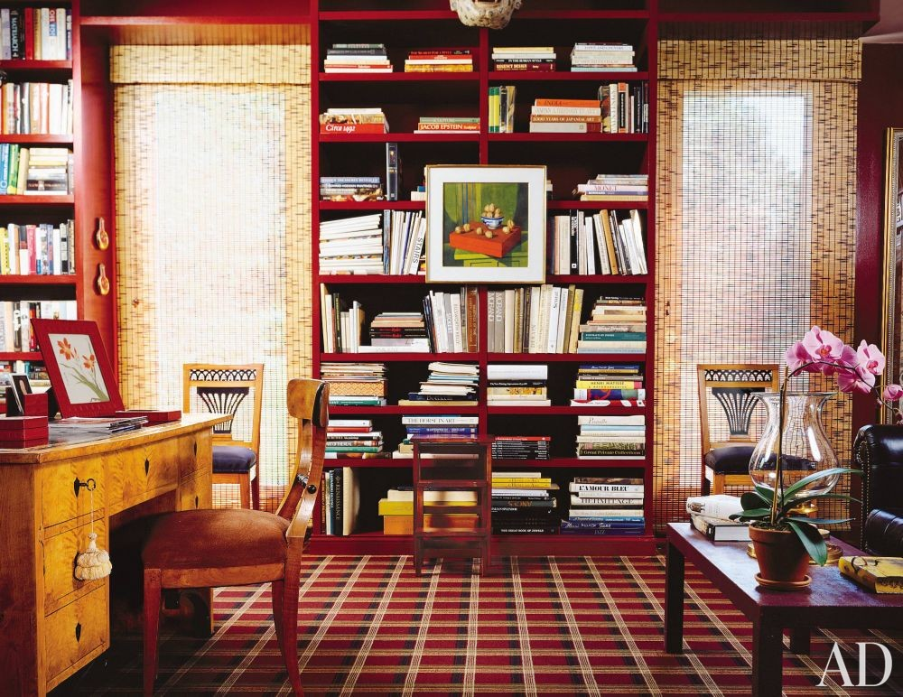 Traditional Office/Library in Hudson Valley, New York