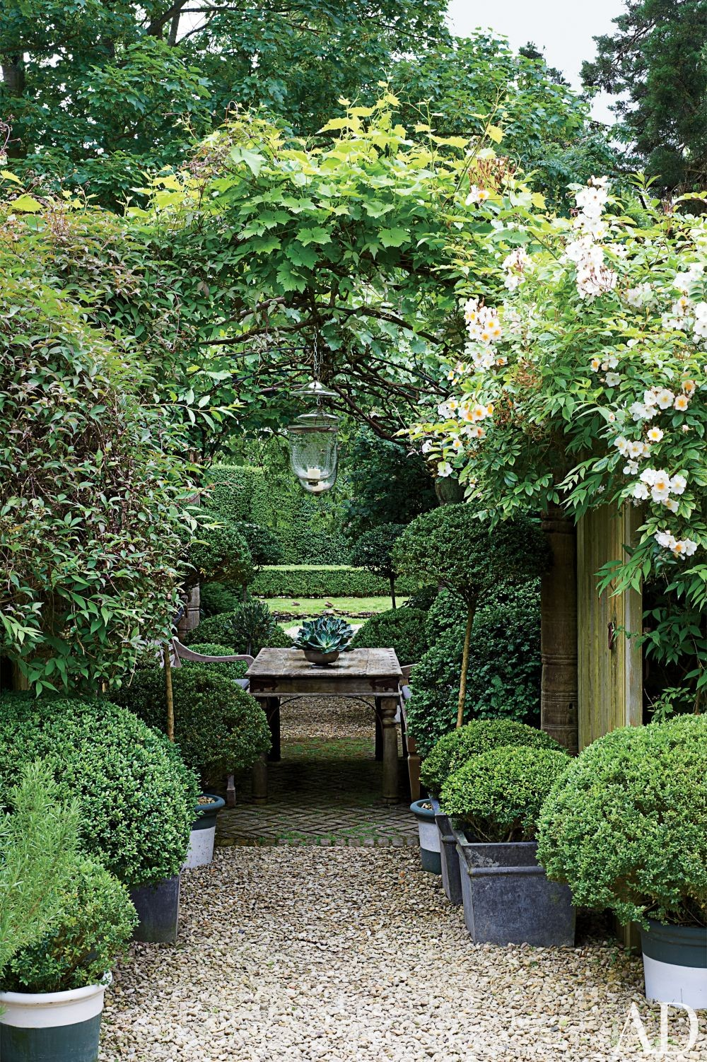 Traditional Outdoor Space By Anouska Hempel Design By