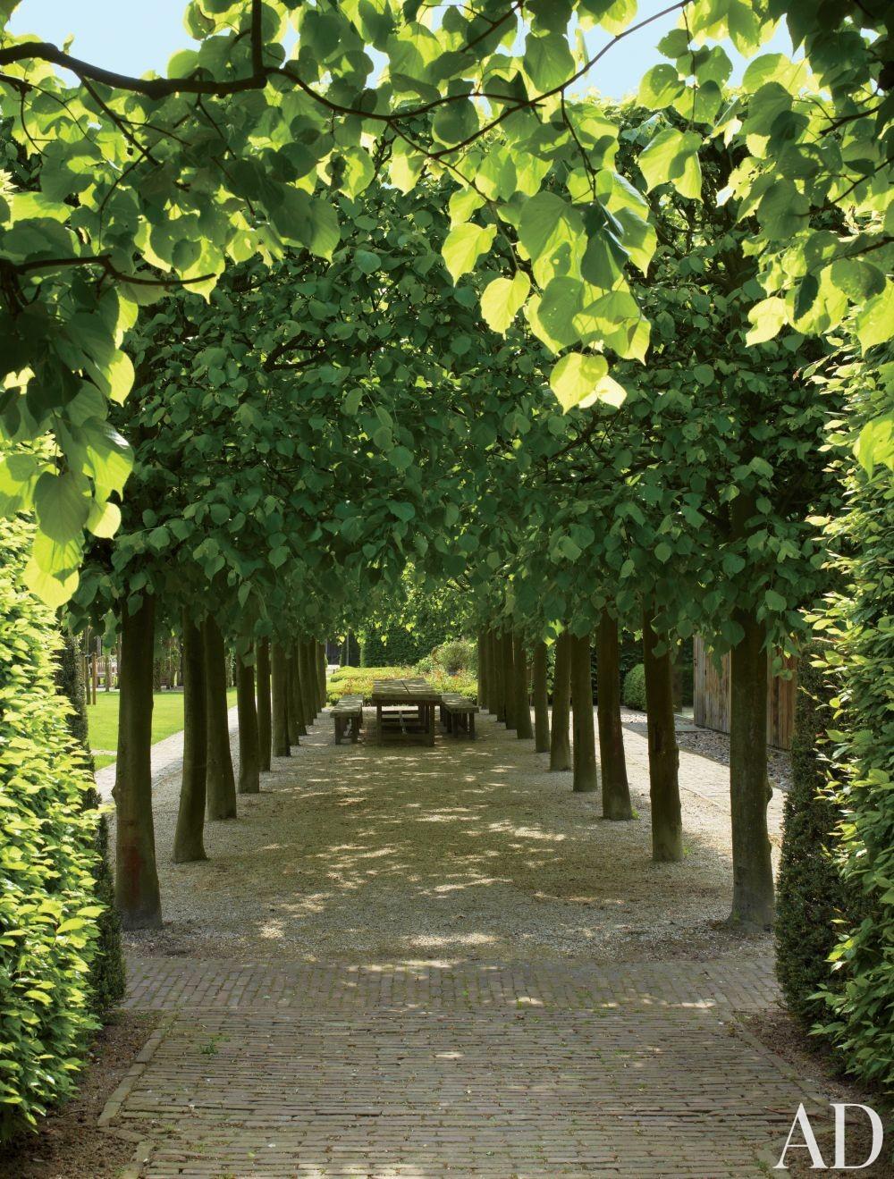 Traditional Outdoor Space by Axel Vervoordt in Belgium