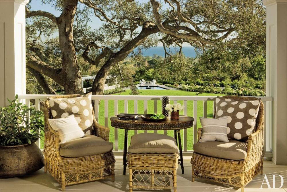 Traditional Outdoor Space by David Phoenix and Don Nulty in Santa Barbara, California