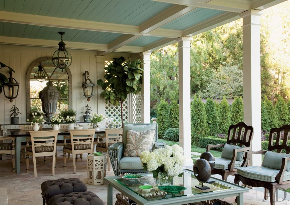 Traditional Outdoor Space by Lauren King by Architectural ...