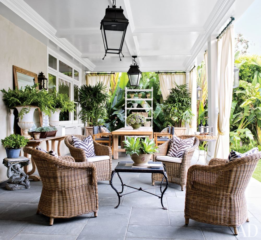 Traditional Outdoor Space in Los Angeles, California