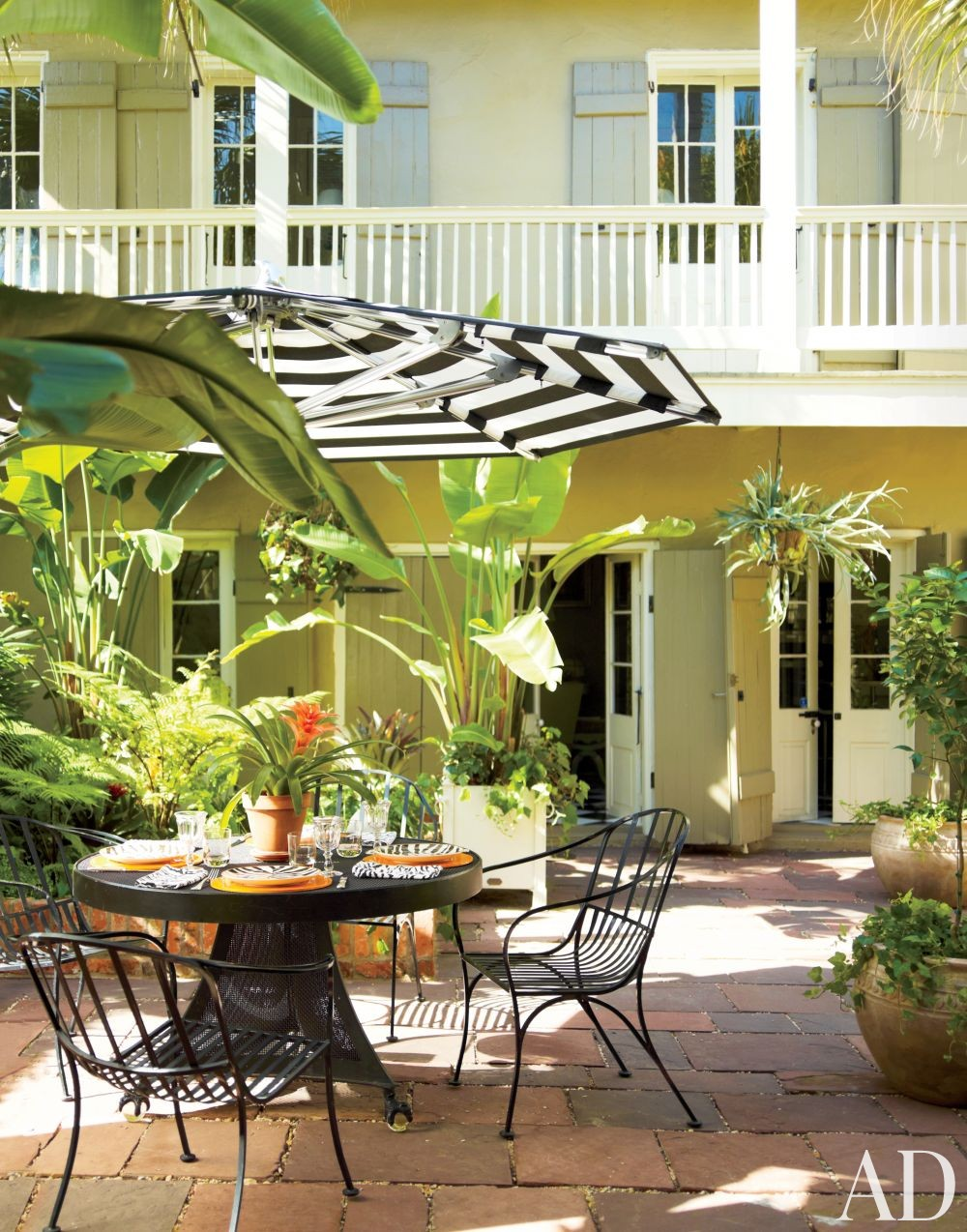 Traditional Outdoor Space in New Orleans, Louisiana