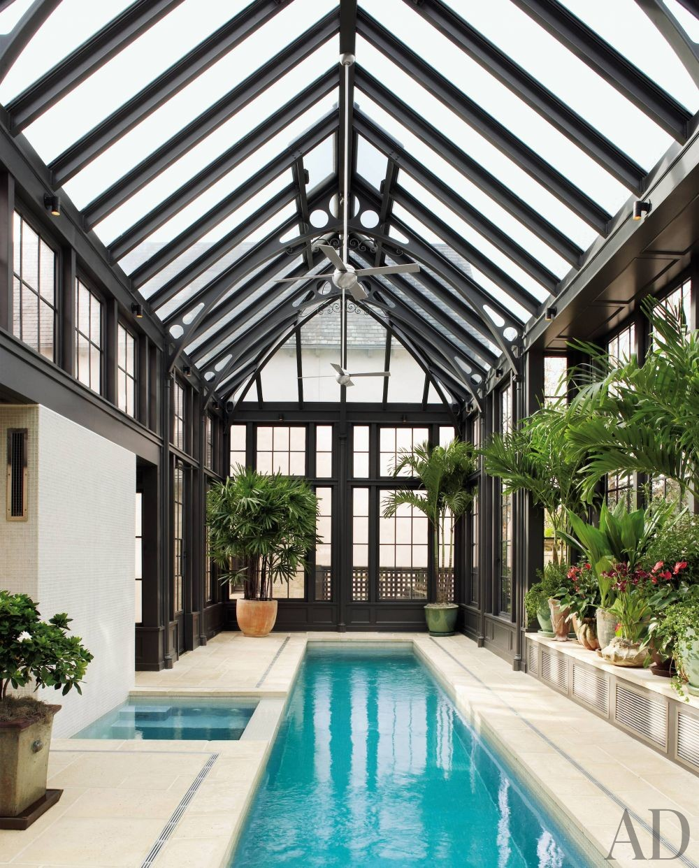 Traditional Pool by Ann Holden and Ken Tate in Southeastern U.S.