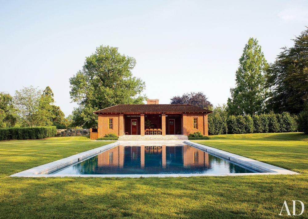 Traditional Pool by David Kleinberg Design Associates and Atelier & Co in Philadelphia, Pennsylvania