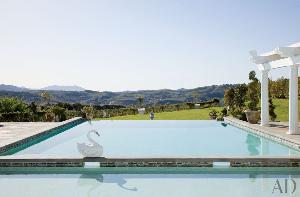 Traditional Pool by Martyn Lawrence Bullard Design in Los Angeles, California